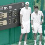 Nicolas Mahut et John Isner ont joué le match le plus long de l'histoire du tennis : onze heures et cinq minutes !