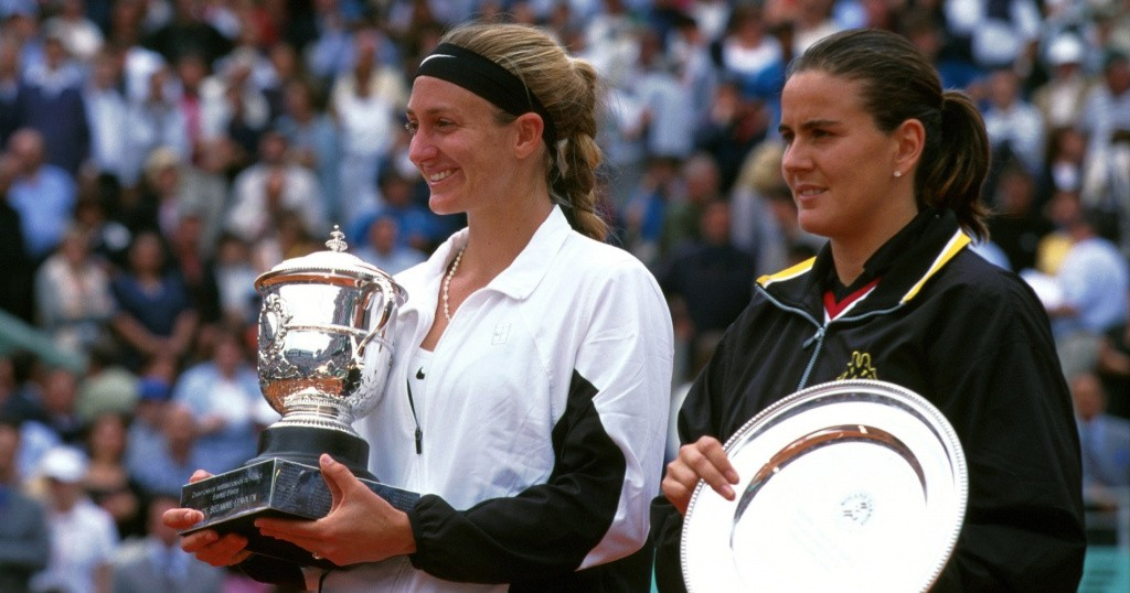 Mary Pierce and Conchita Martinez, 2000 Roland-Garros final