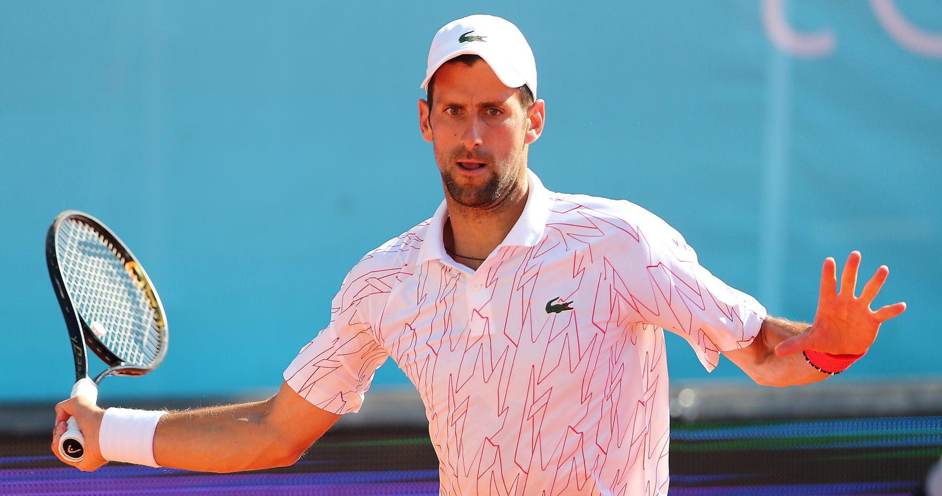 Novak Djokovic, Adria Tour, 2020