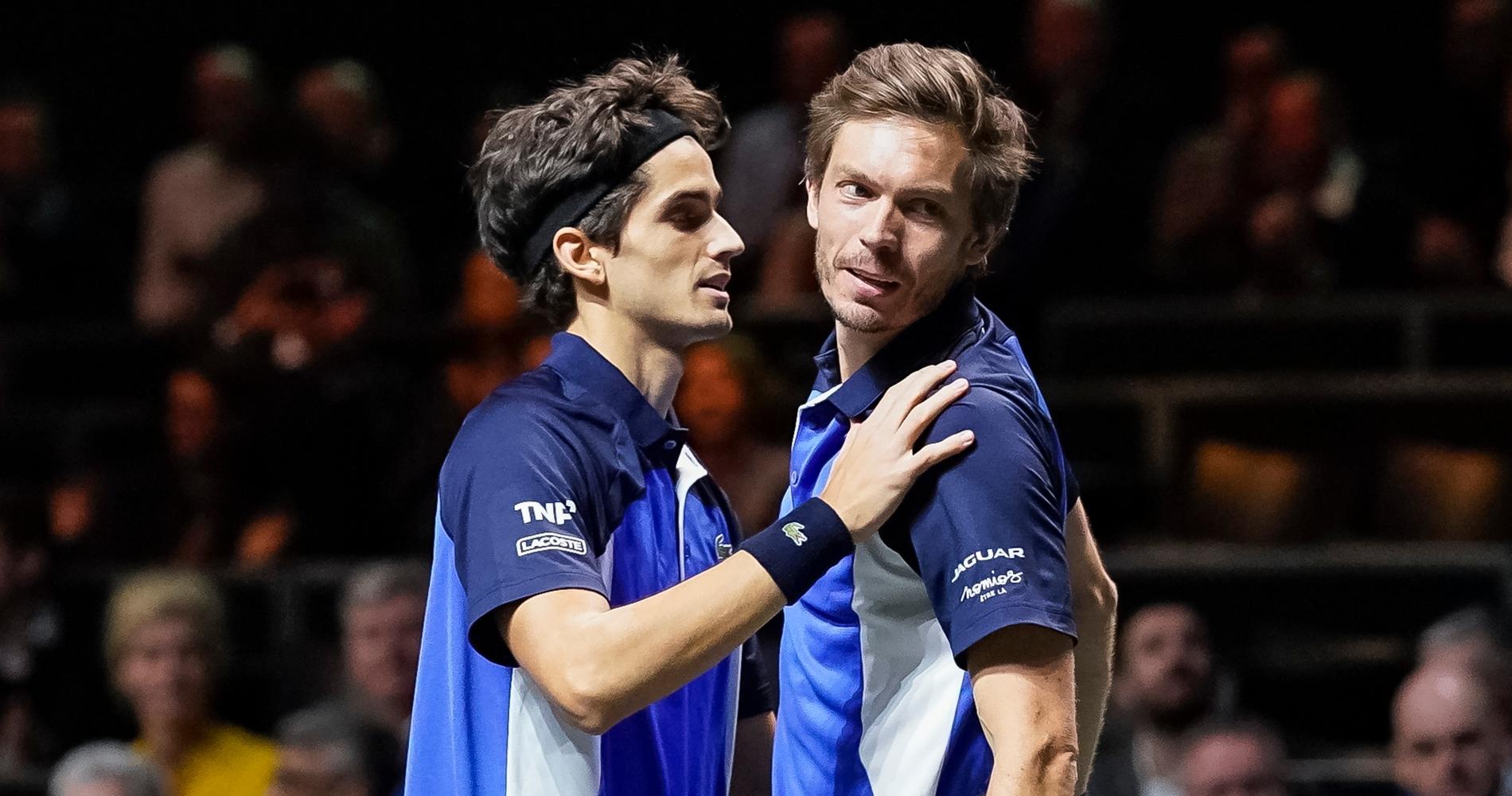 Pierre-Hugues Herbert and Nicolas Mahut, 2020 Rotterdam doubles' tournament