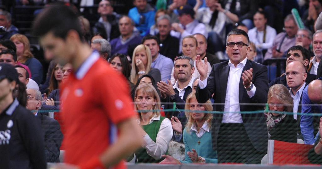 Srdjan Djokovic, Davis Cup 2013