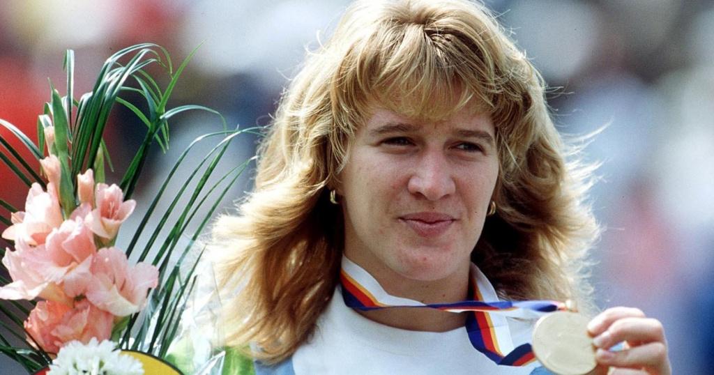 Steffi Graf, 1988 Olympics gold-medalist