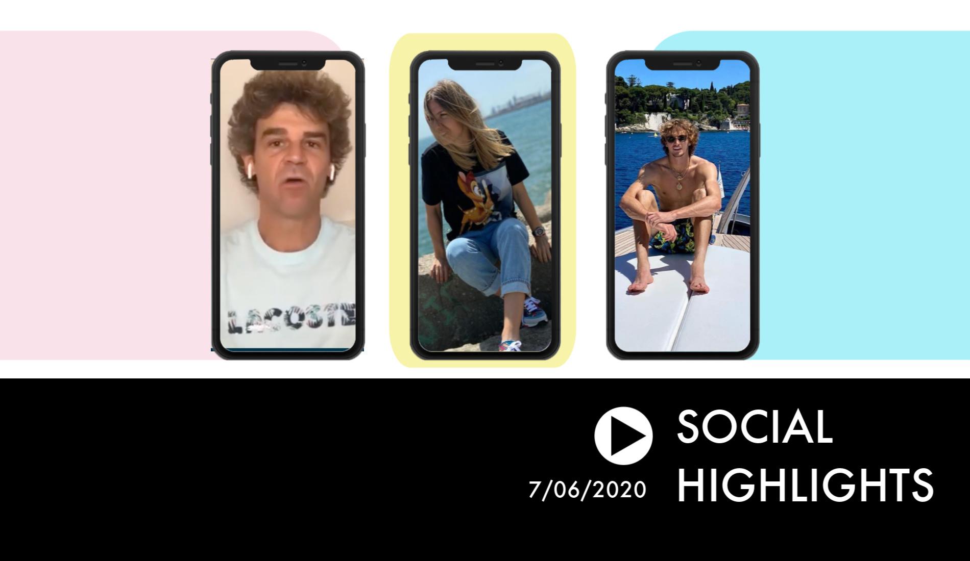 Social Highlights 7.06.20