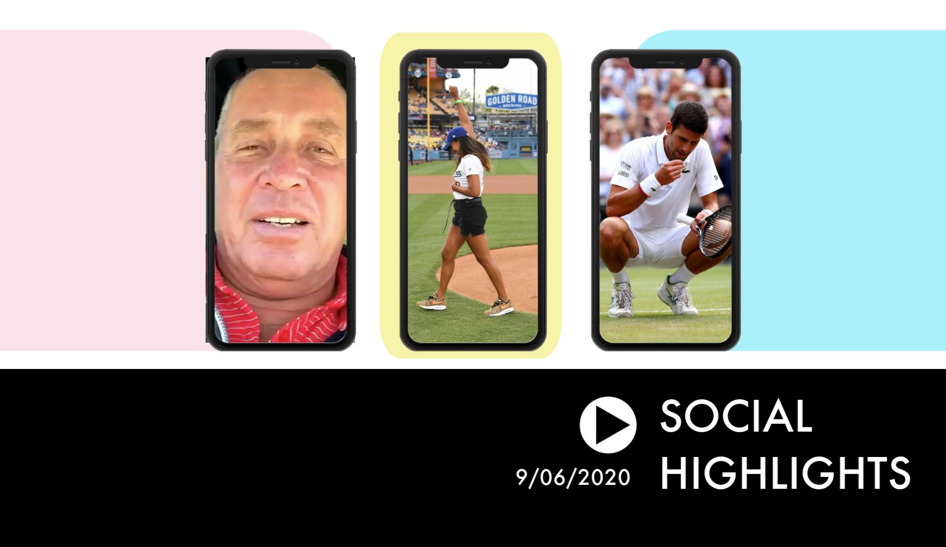 Ivan Lendl - Social Highlights 9.06.20