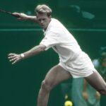Stefan Edberg inflige un triple 6-0 à son compatriote Eriksson, lors du premier tour de Wimbledon 1987.
