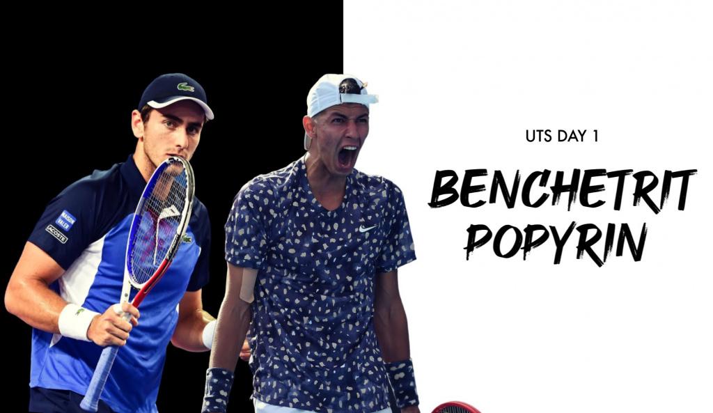 UTS Day 1: Elliot Benchetrit v Alexei Popyrin