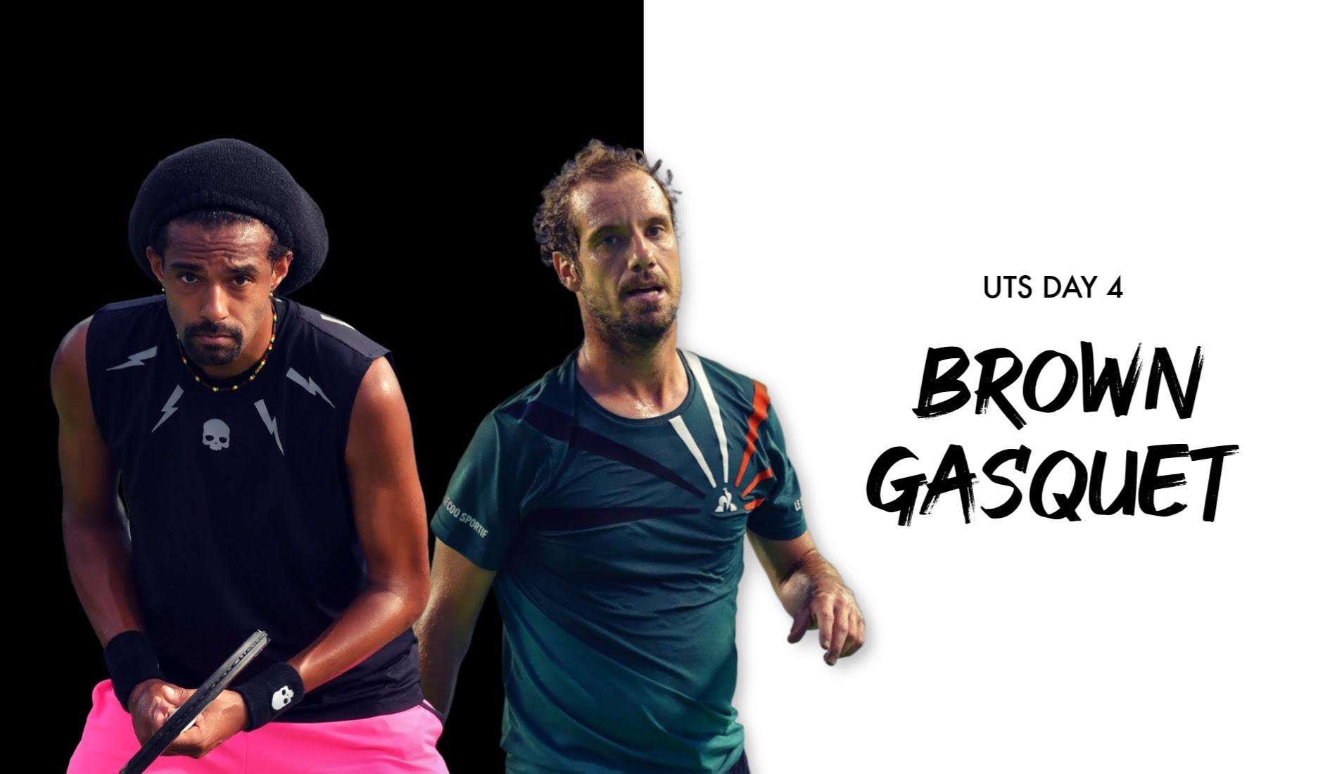 UTS1 - Day 4: Dustin Brown vs Richard Gasquet