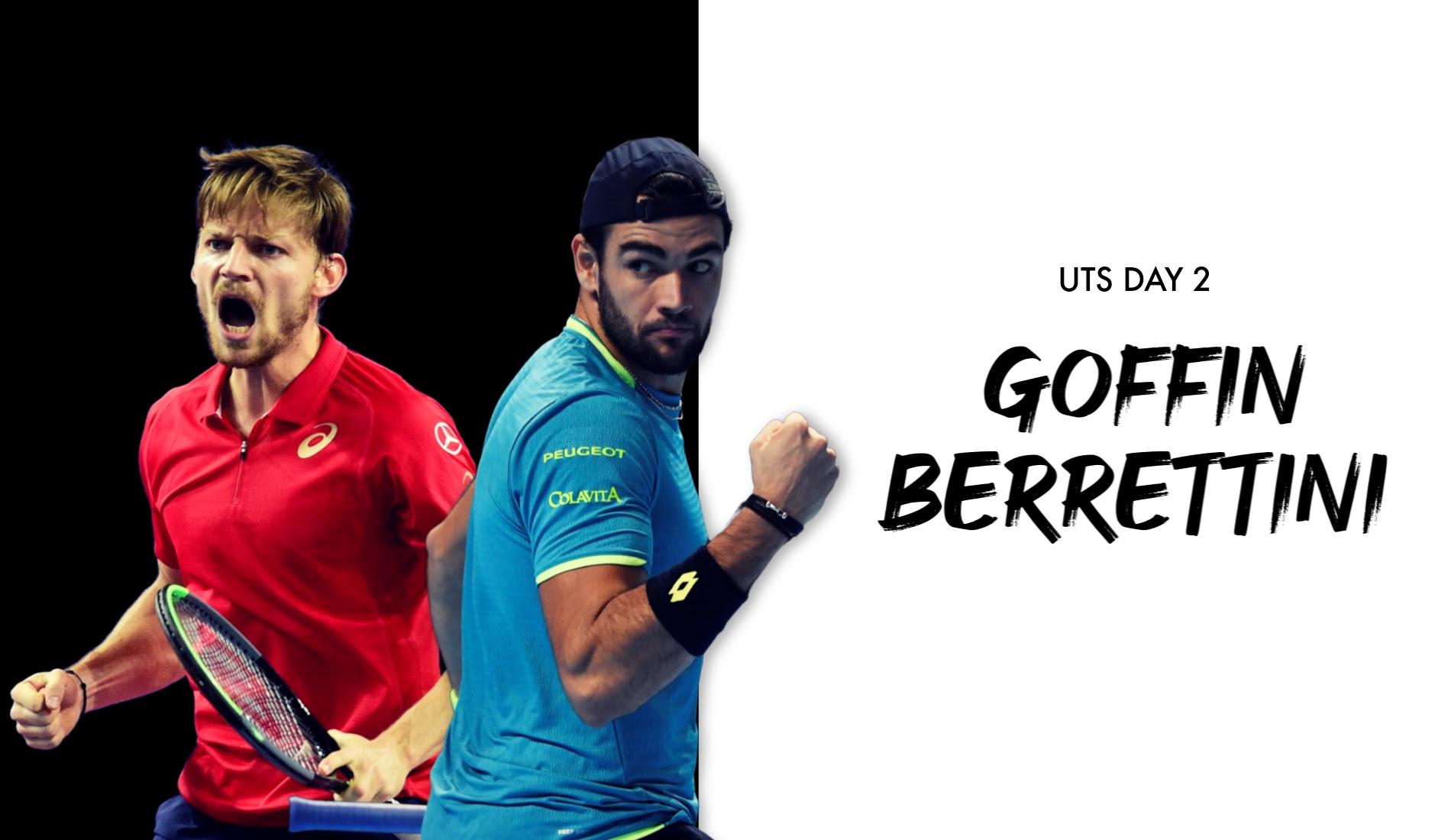 UTS1 - Day 2: David Goffin vs David Berrettini