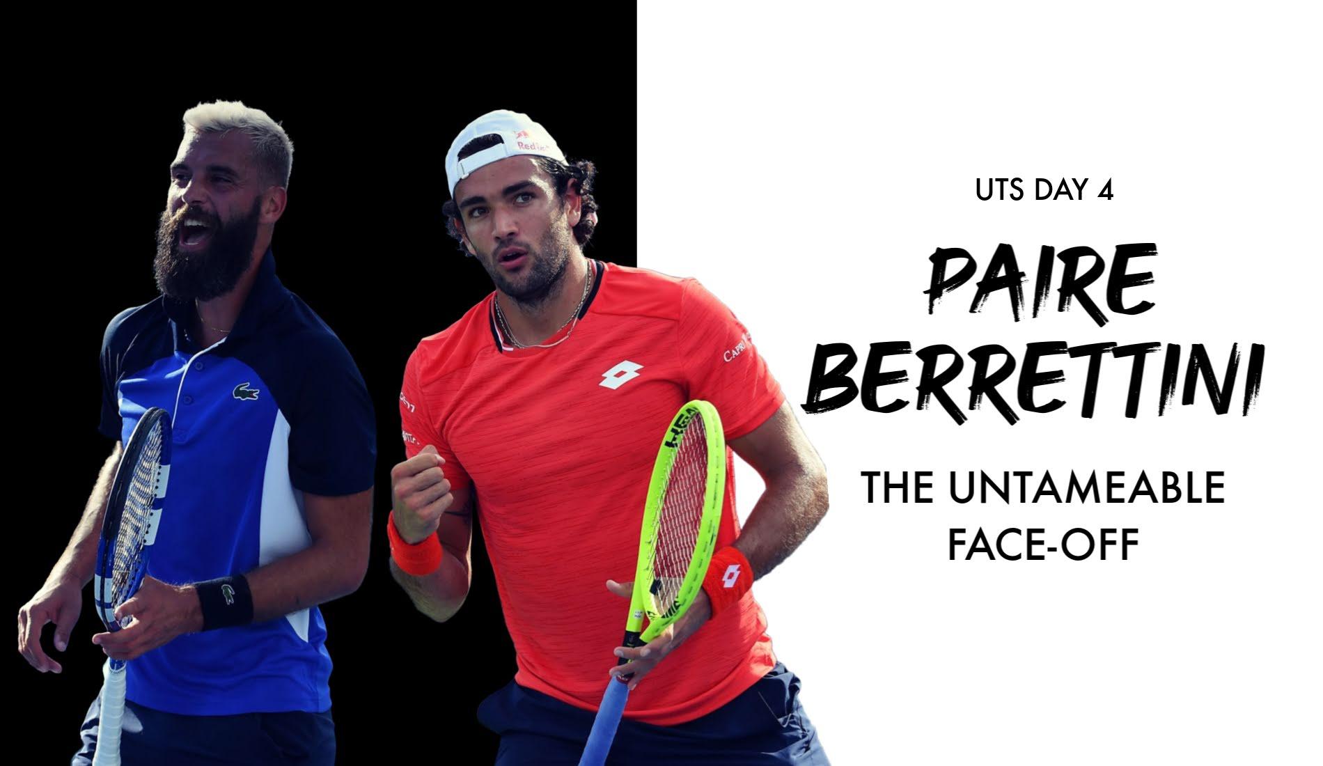 UTS1 - Day 4: Benoît Paire vs Matteo Berrettini (Title)