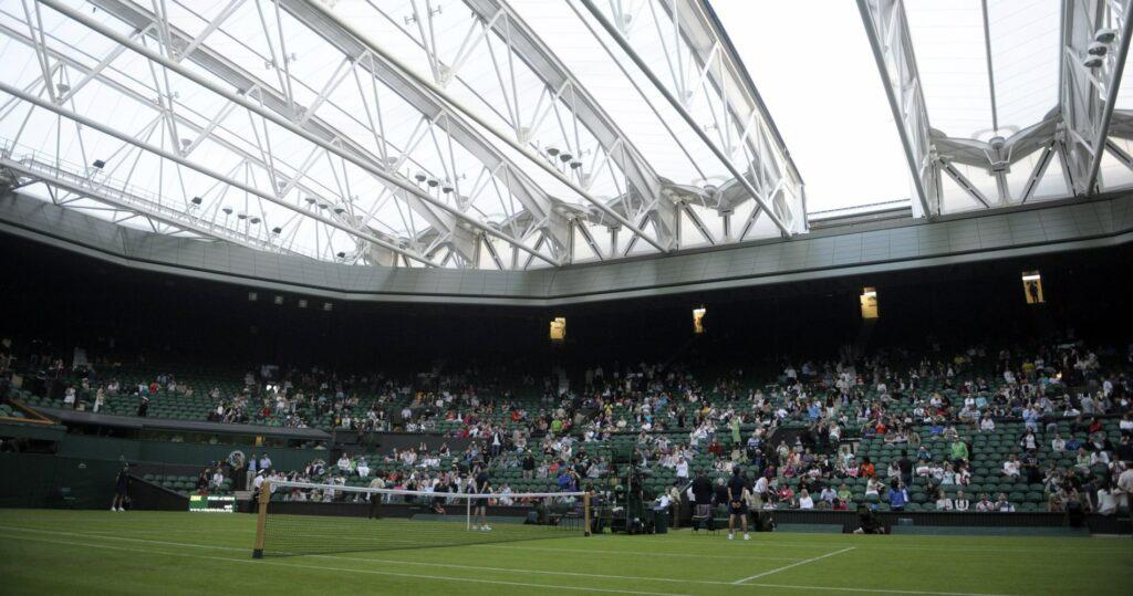 Wimbledon Centre Court in 2010