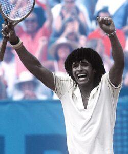 Yannick Noah won the French Open on June, 5, 1983.
