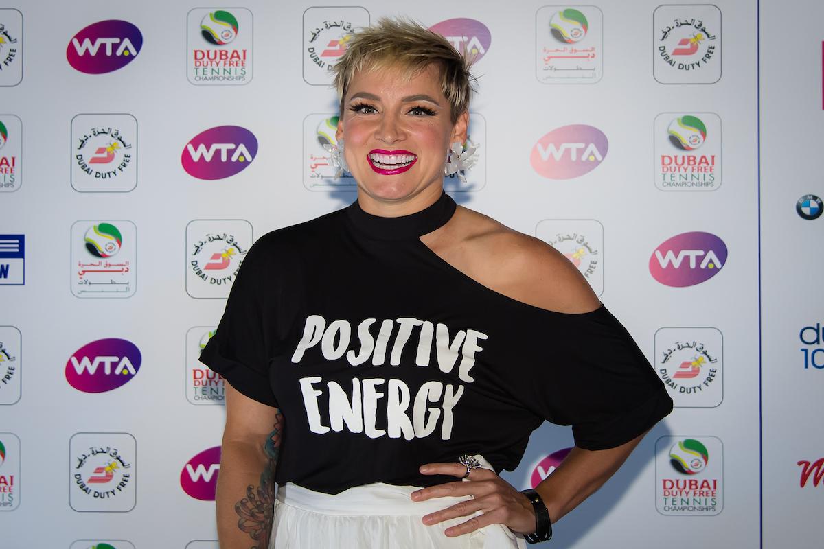 Bethanie Mattek-Sands, co-host of Tennis United