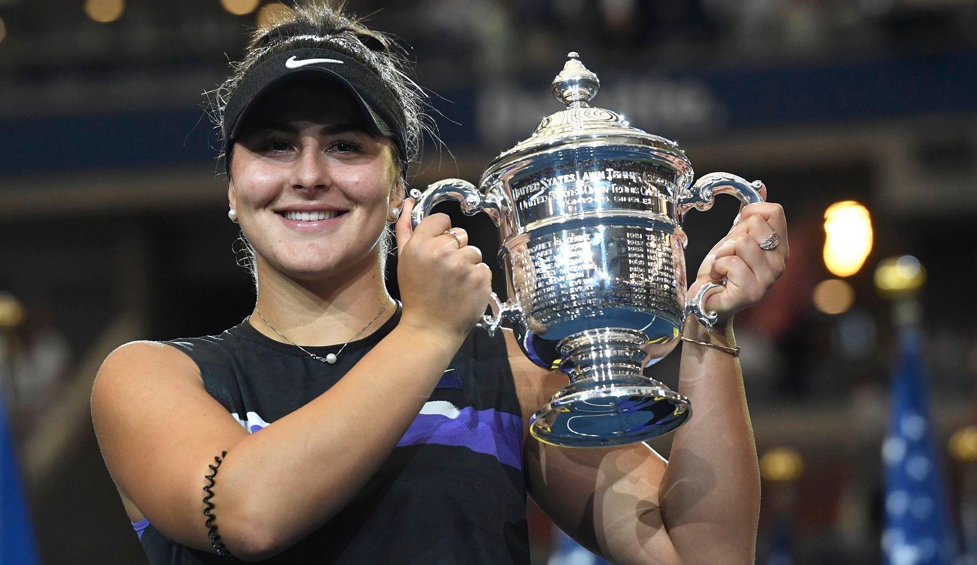 Bianca Andreescu winning 2019 US Open