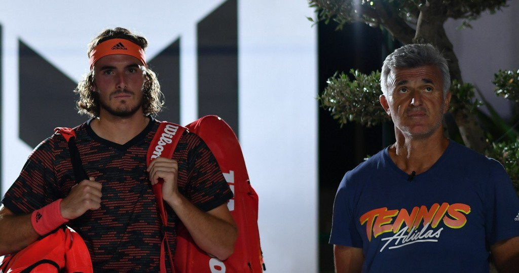 Apostolos and Stefanos Tsitsipas at UTS