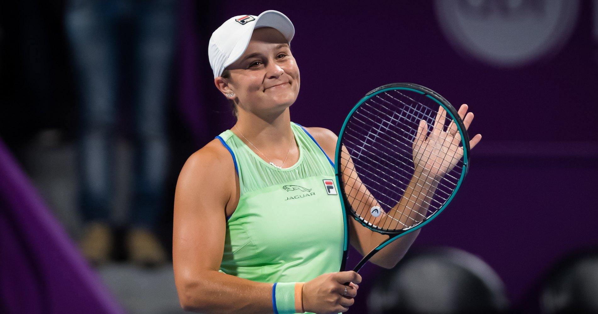 Ashleigh Barty, Doha 2020