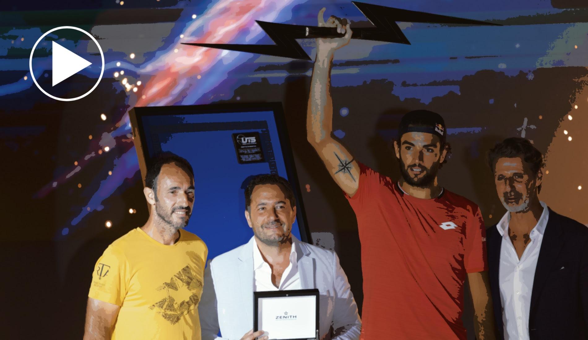Matteo Berrettini - UTS winner