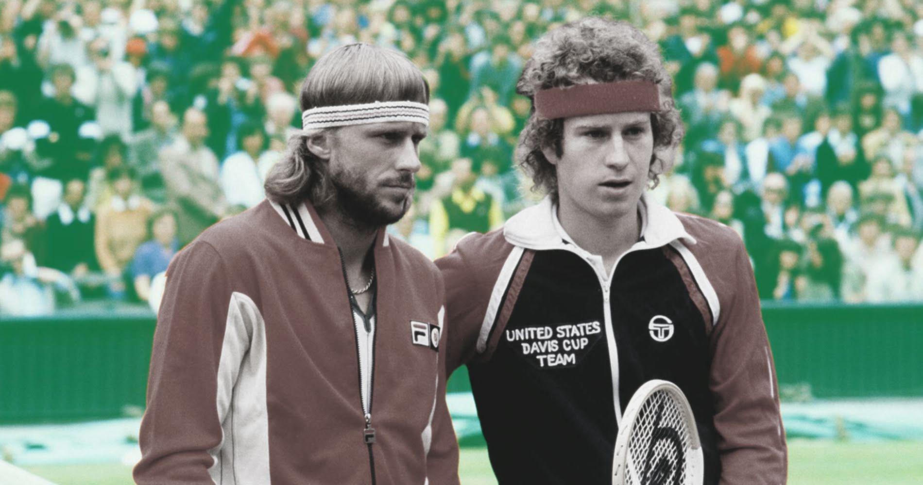 Bjorn Borg and John McEnroe, 1980 Wimbledon final
