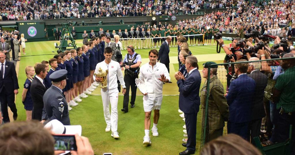 Djokovic Federer Wimbledon 2015