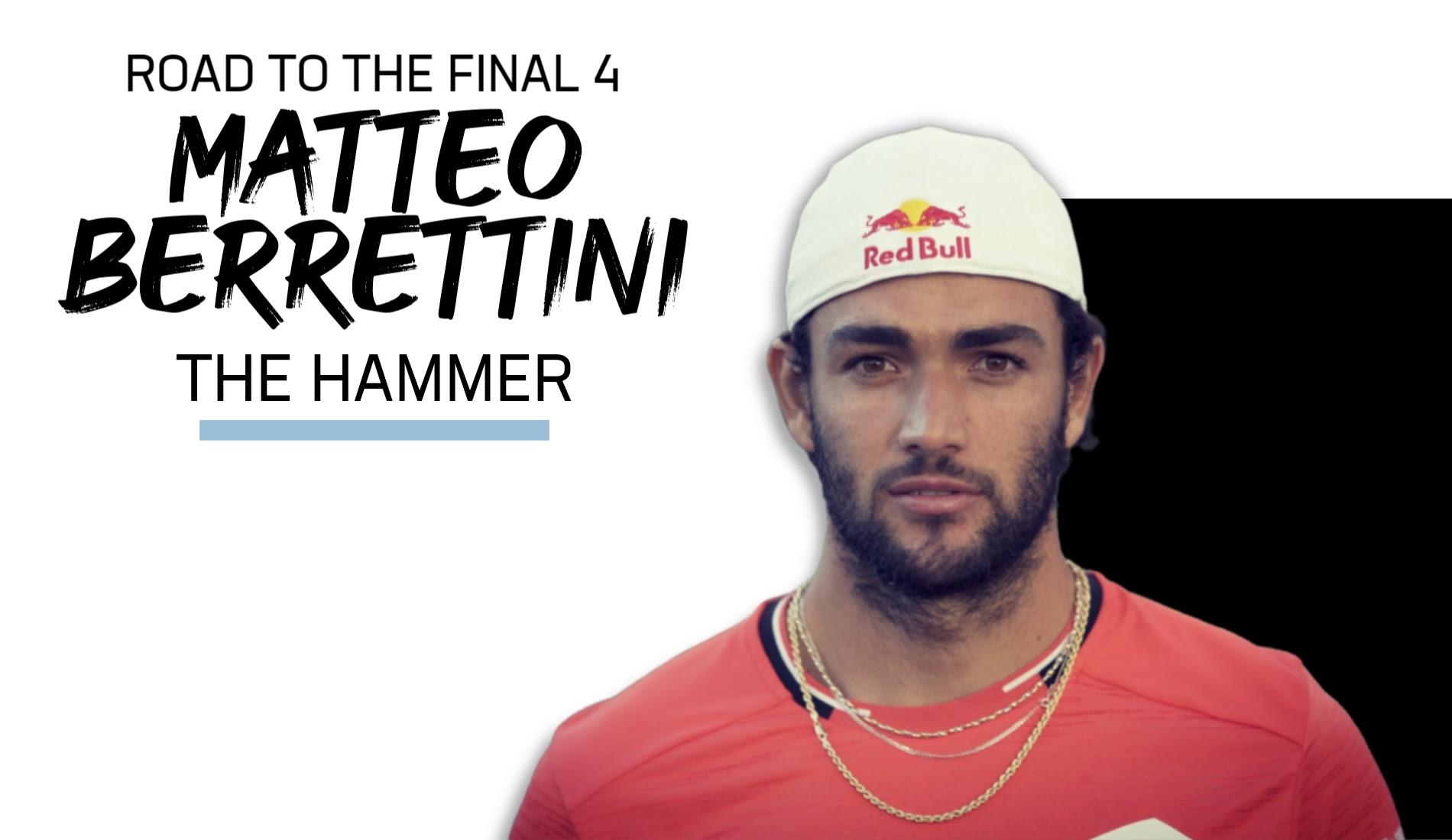 UTS Road to the Final 4: Matteo Berrettini