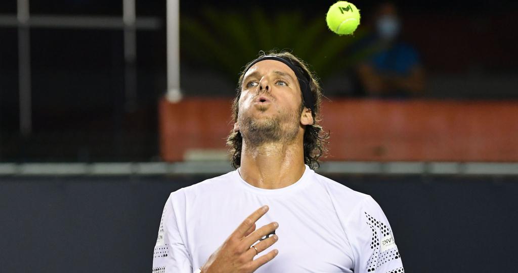 Feliciano Lopez à l'Ultimate Tennis Showdown, 2020
