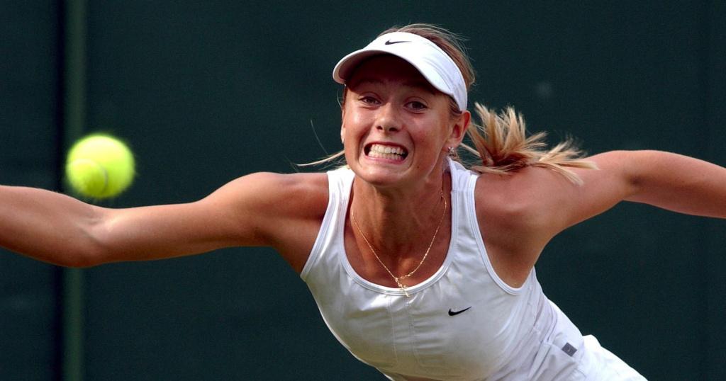 Maria Sharapova, 2003 Wimbledon