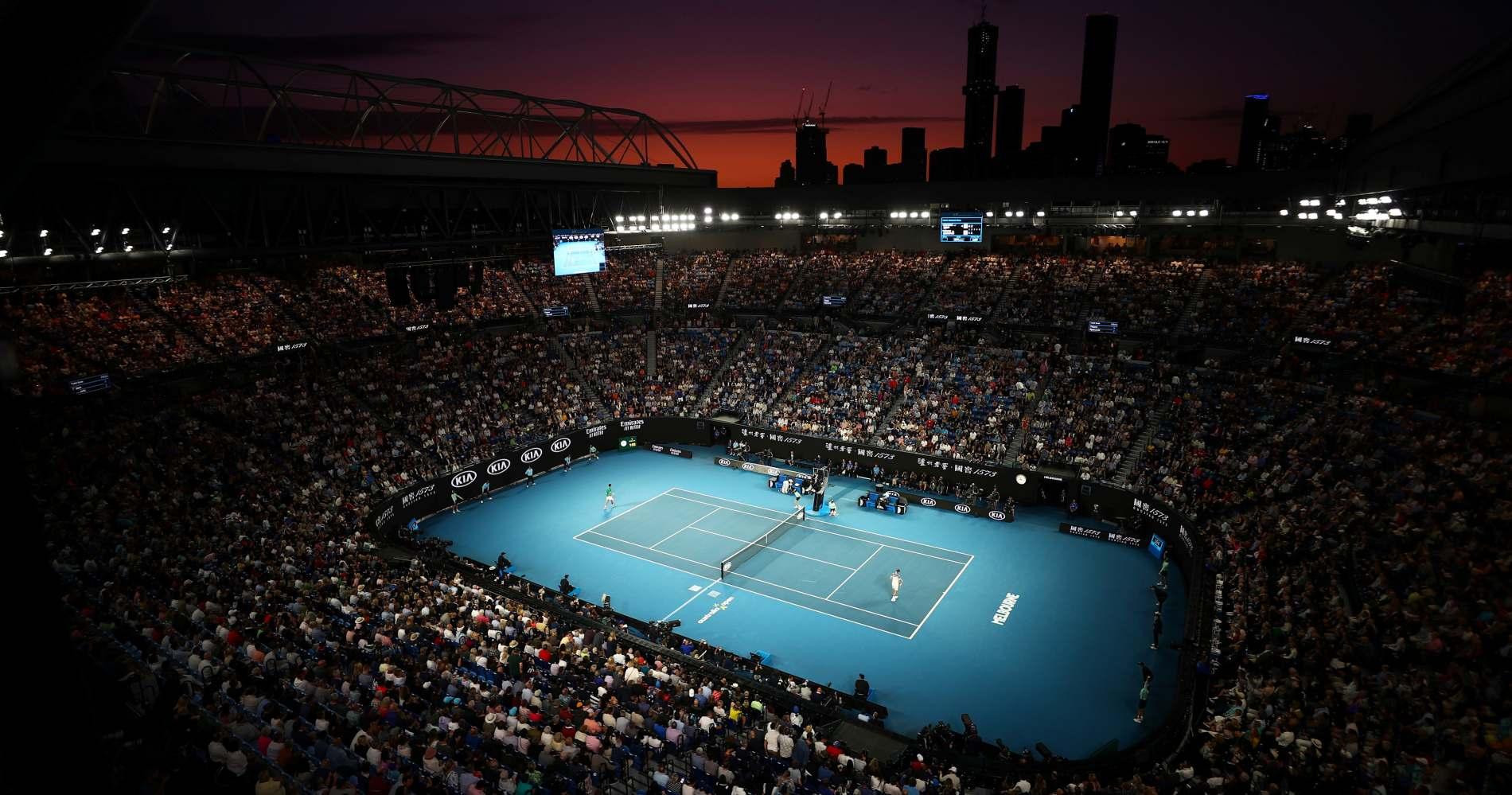 Melbourne Park Open Australie