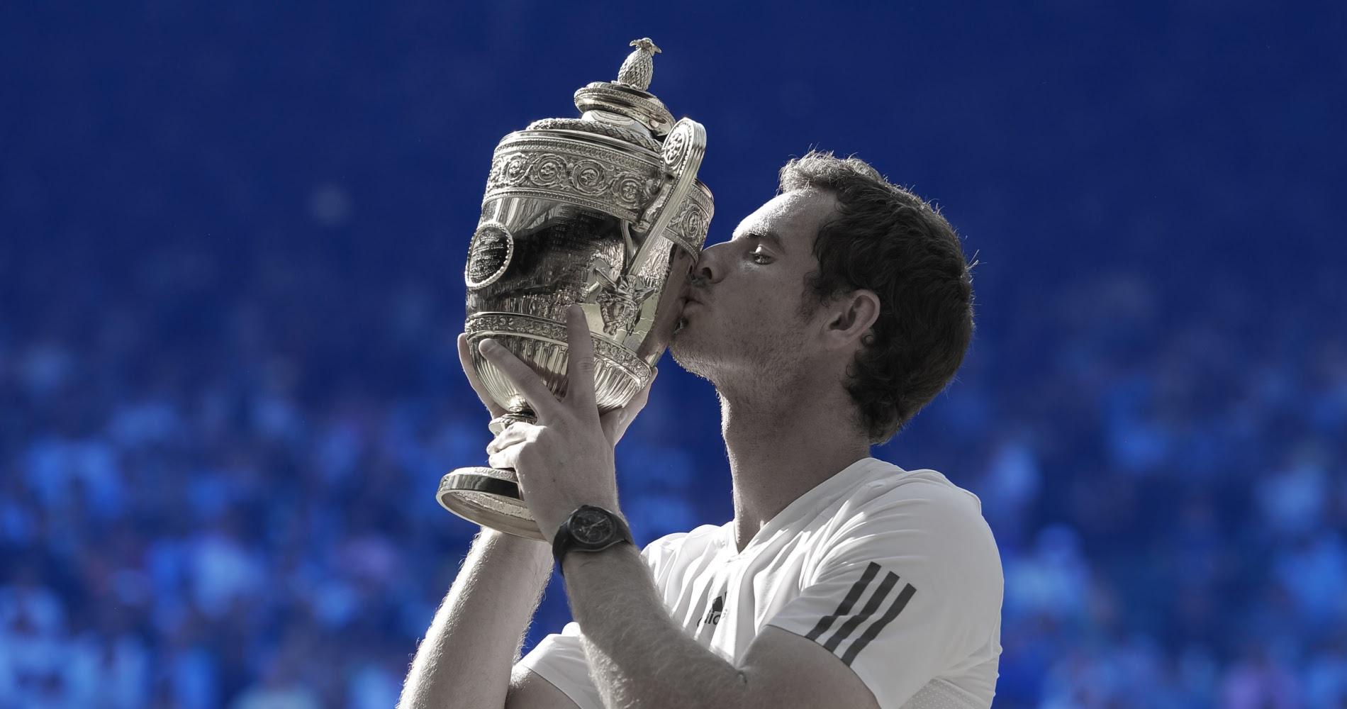 Andy Murray - Trophy Wimbledon
