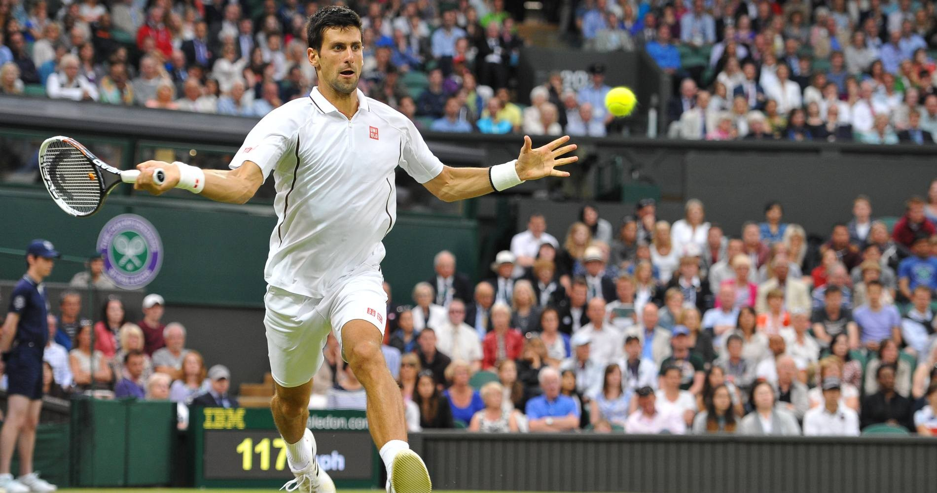 Novak Djokovic - Wimbledon 2013