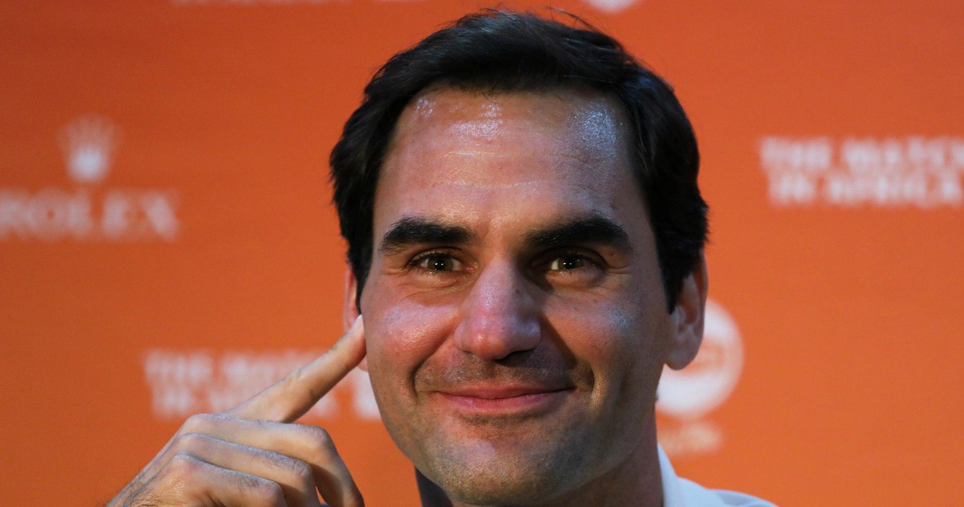 Roger Federer, 2020