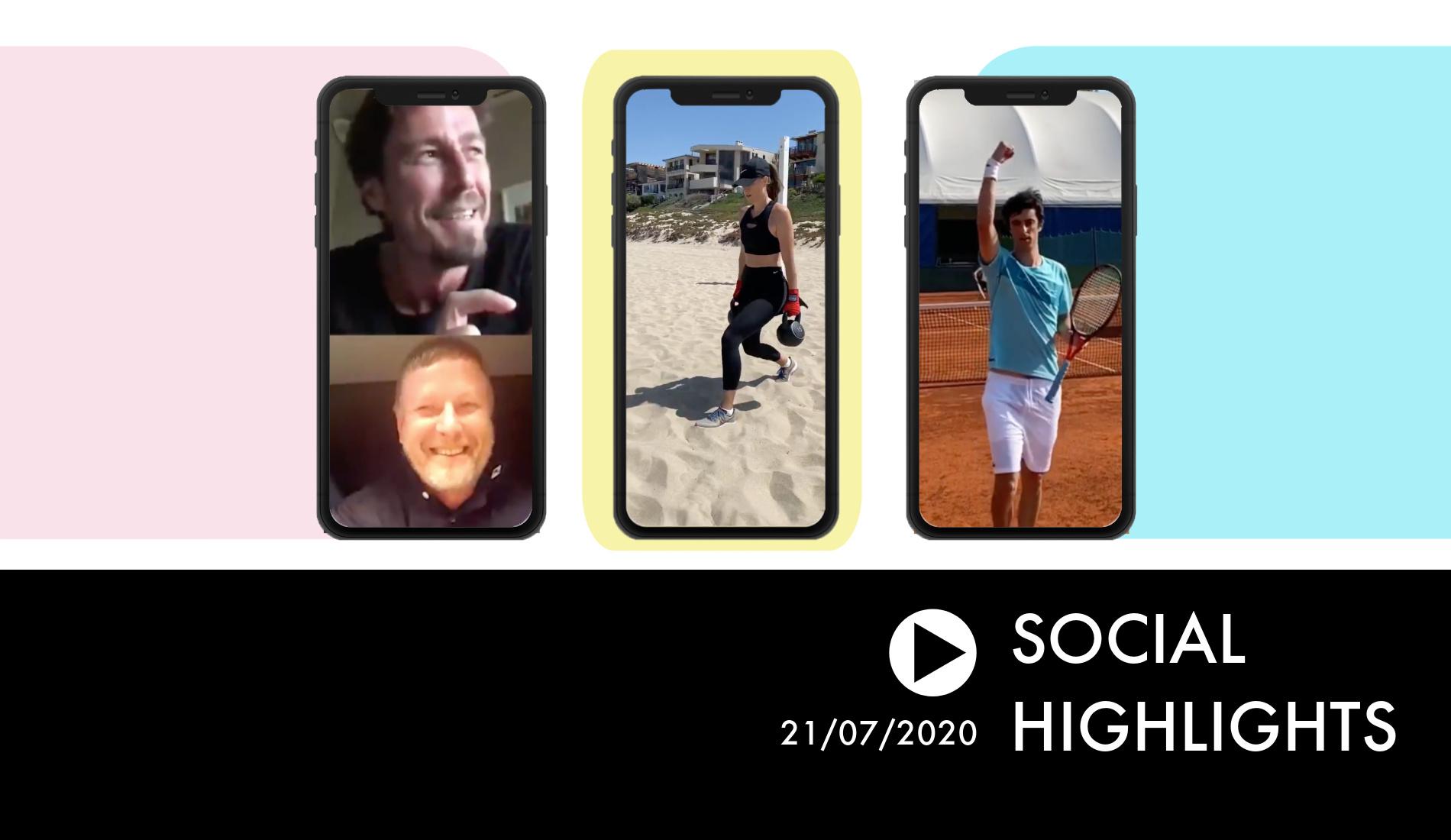 Social Highlights 21/07