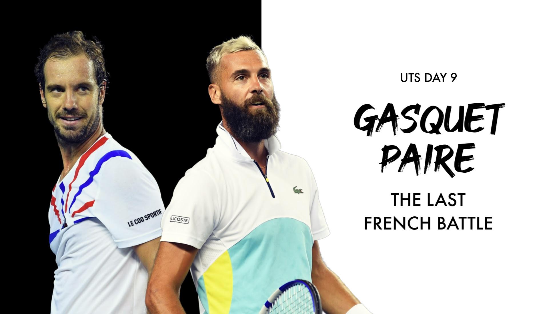Richard Gasquet and Benoit Paire meet again at UTS on Sunday
