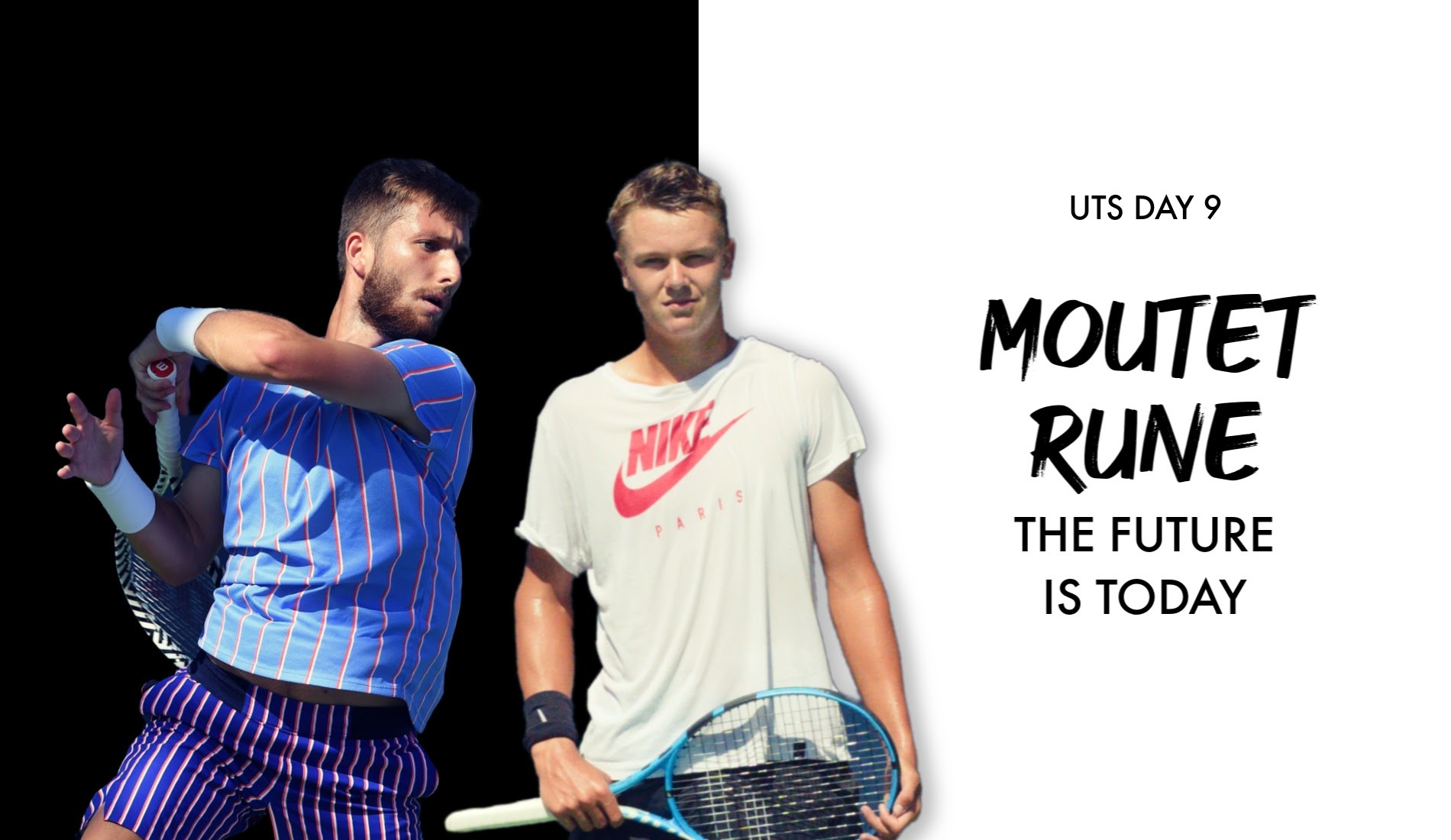 Moutet and Rune meet at UTS on SUnday