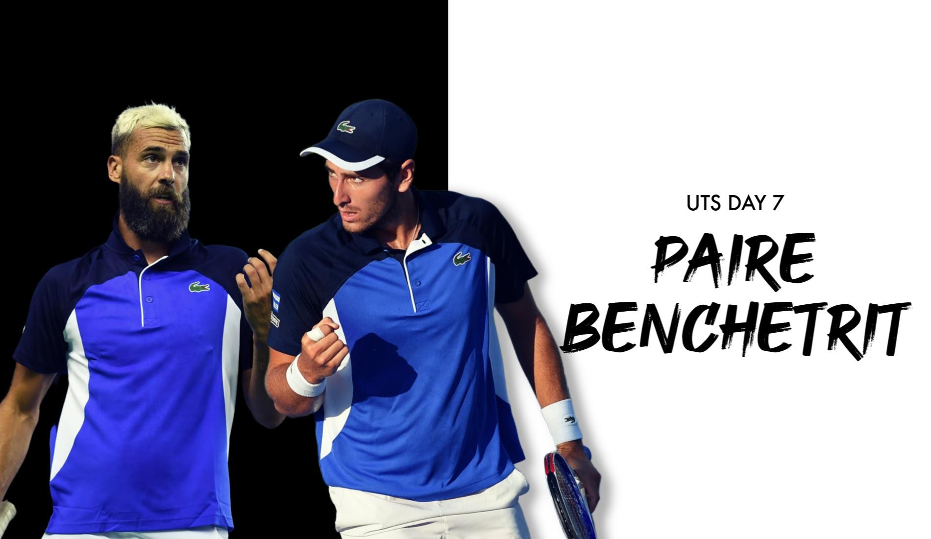 "UTS1 - Day 7: Benoît Paire ""The Rebel"" vs Elliot Benchetrit ""The Underdog"""
