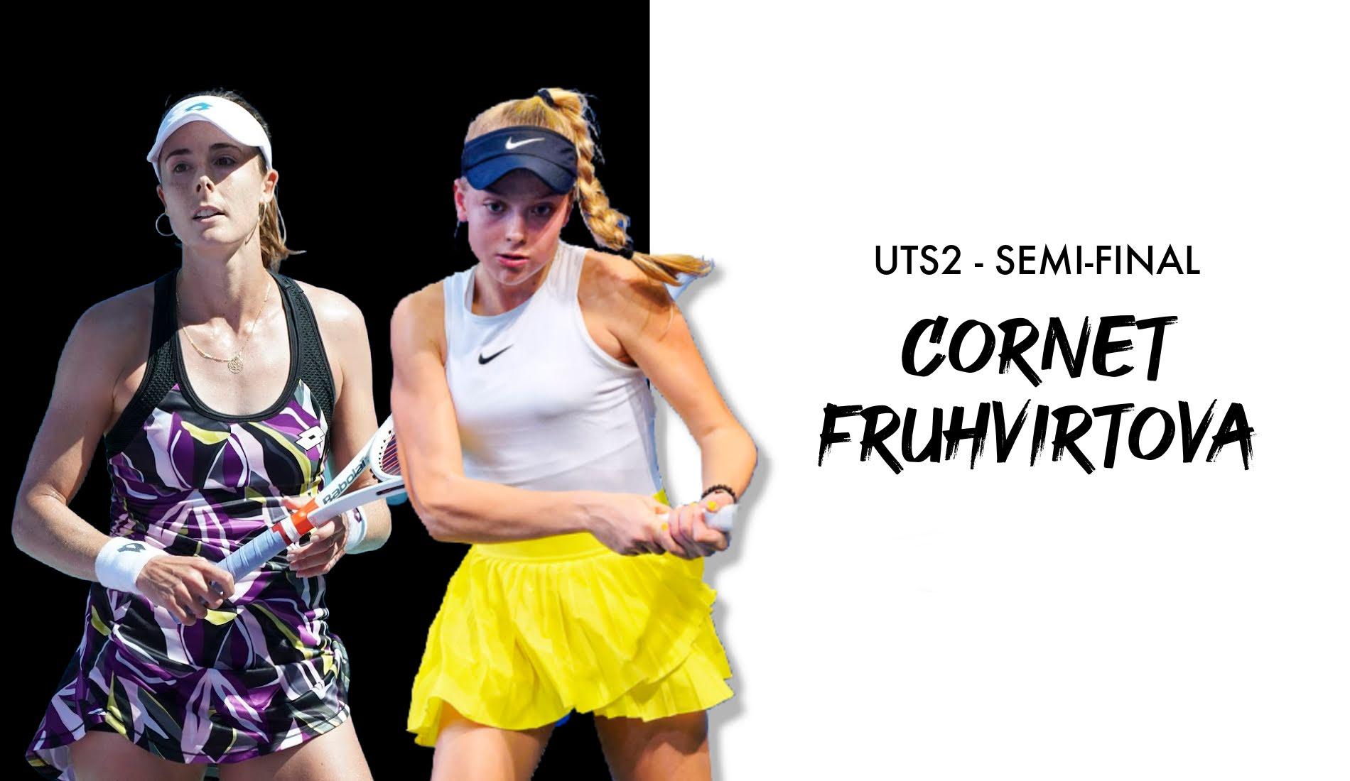 UTS2 - Day 3: Alizé Cornet vs Brenda Fruhvirtova