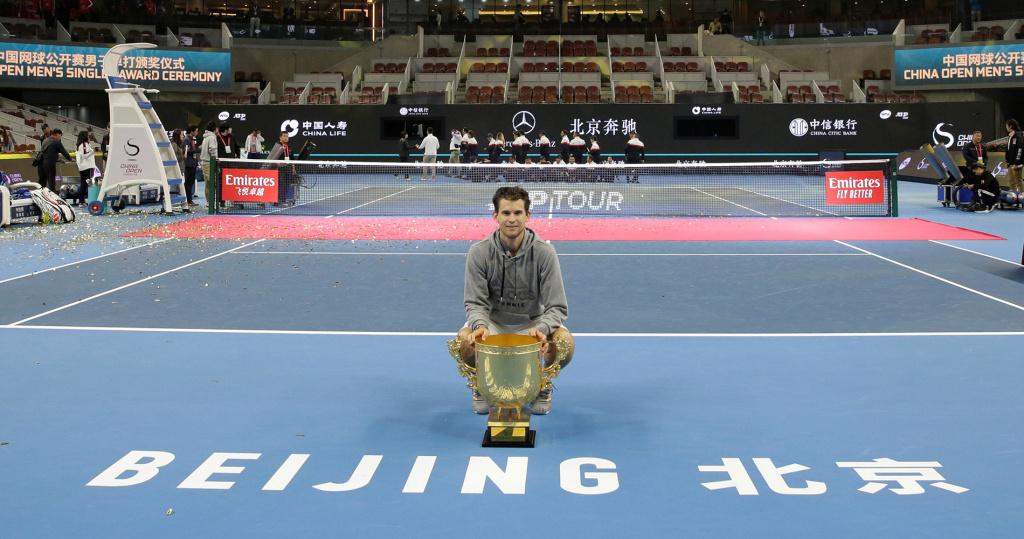 Dominic Thiem 2019 Beijing
