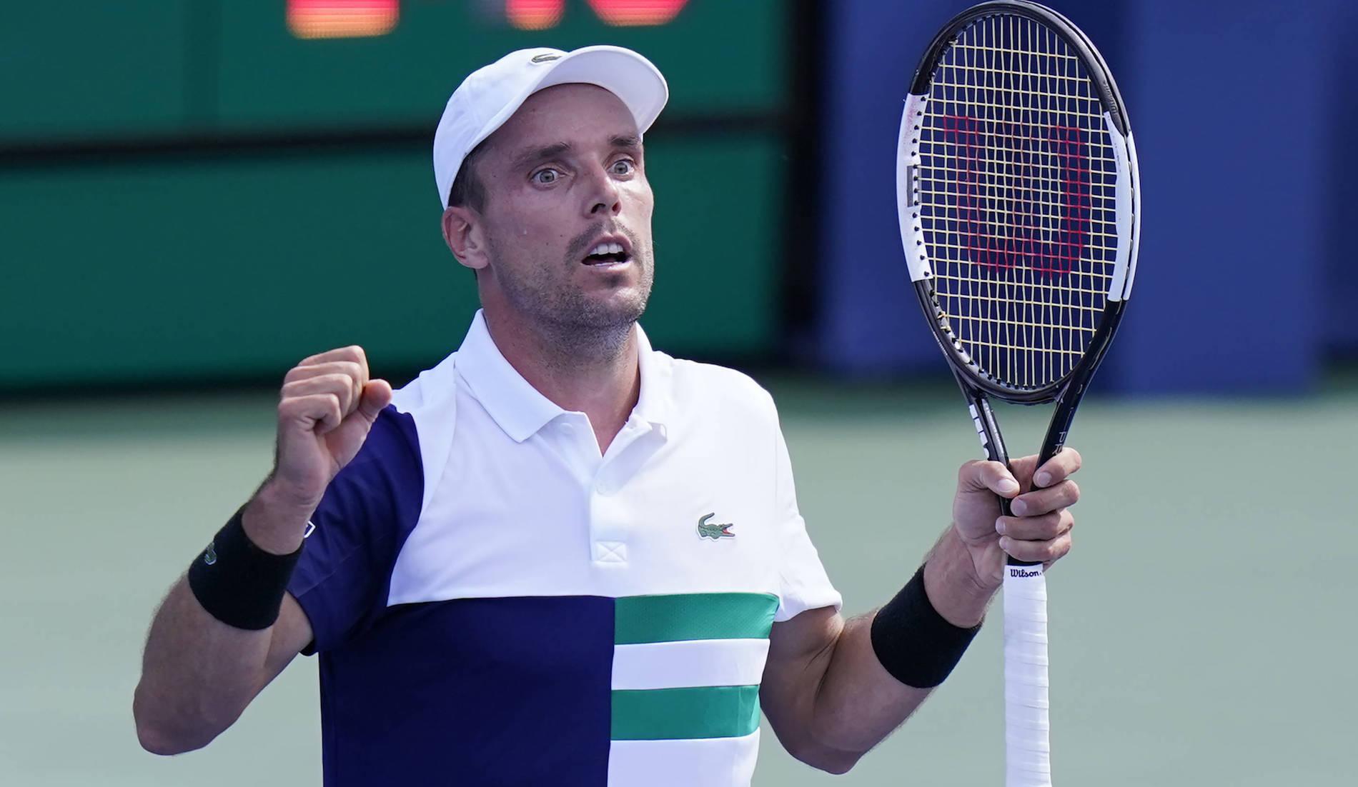 Roberto Bautista Agut, Cincinnati 2020, quart de finale