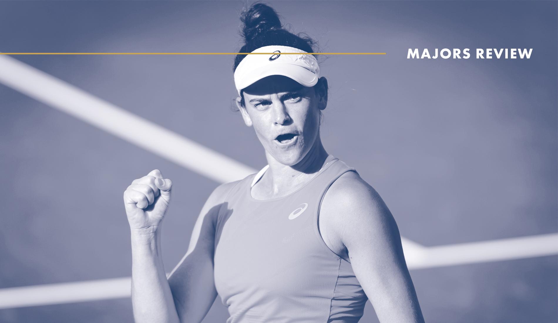 Jennifer Brady, Lexington 2020 : Tennis Majors Review