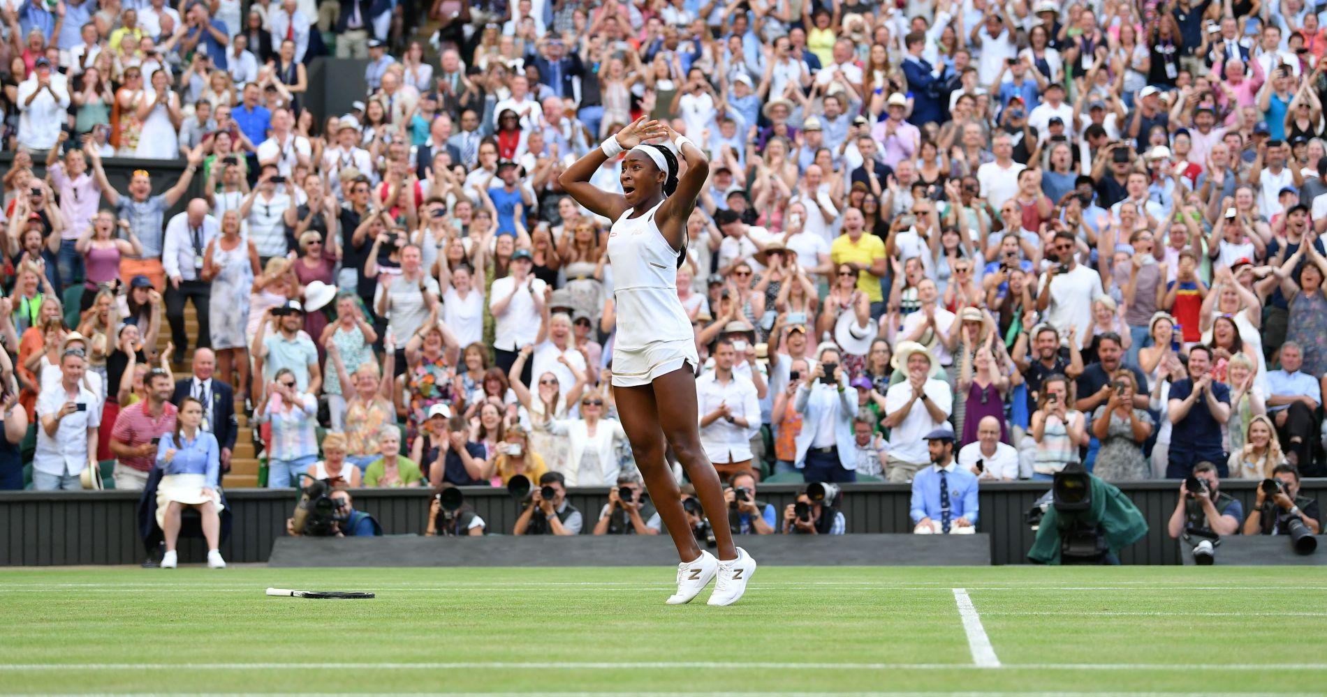 Cori Gauff - Wimbledon