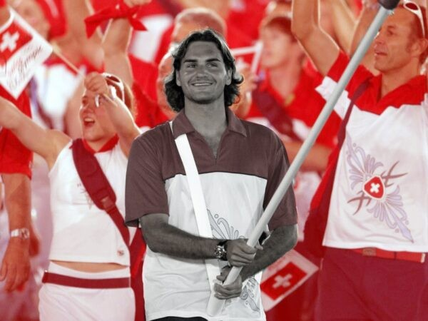 Federer On this day - Jeux olympiques Athènes 2004