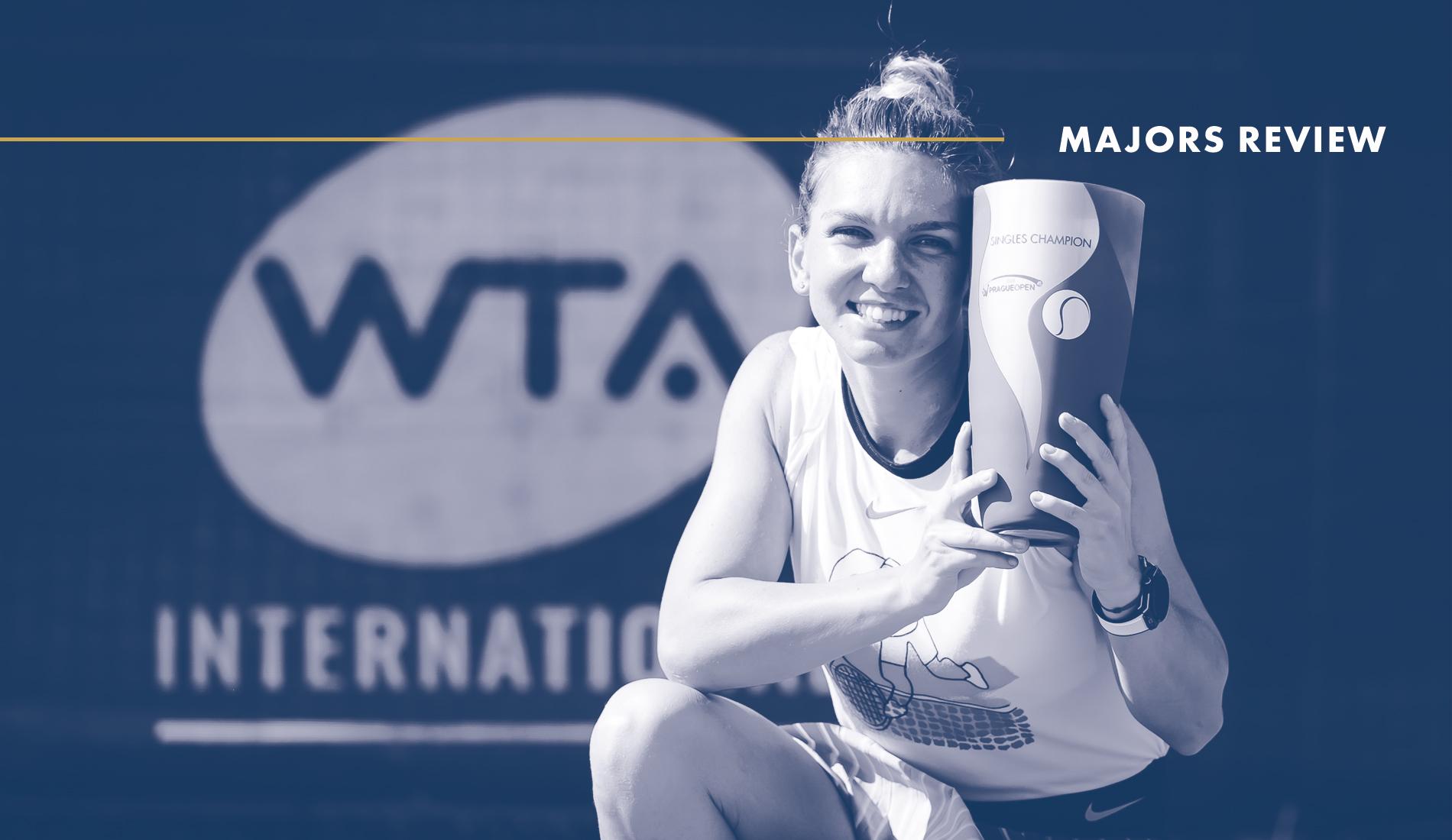 Simona Halep, Prague 2020 : Tennis Majors Review