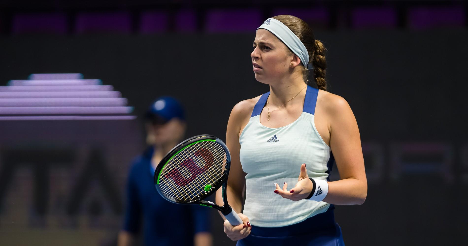 Jelena Ostapenko, Saint-Petersburg 2020