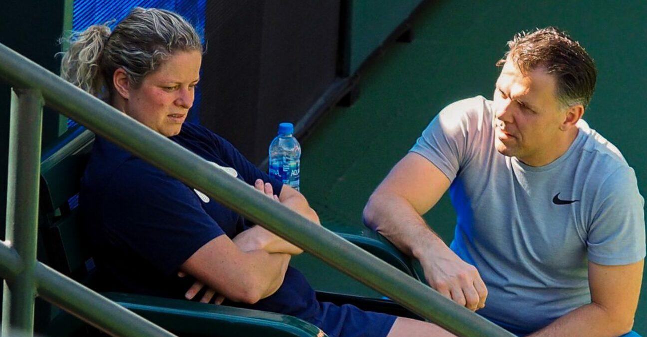 Kim Clijsters, Indian Wells 2020