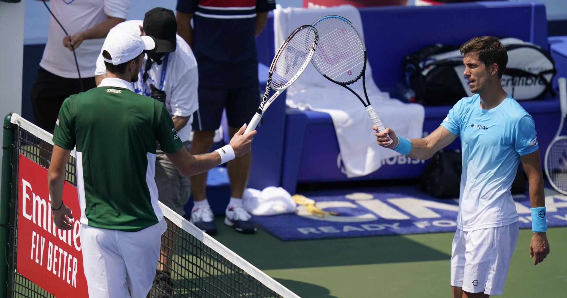 Daniil Medvedev vs Aljaz Bedene, Western & Southern Open (Flushing Meadows / New York), 2020