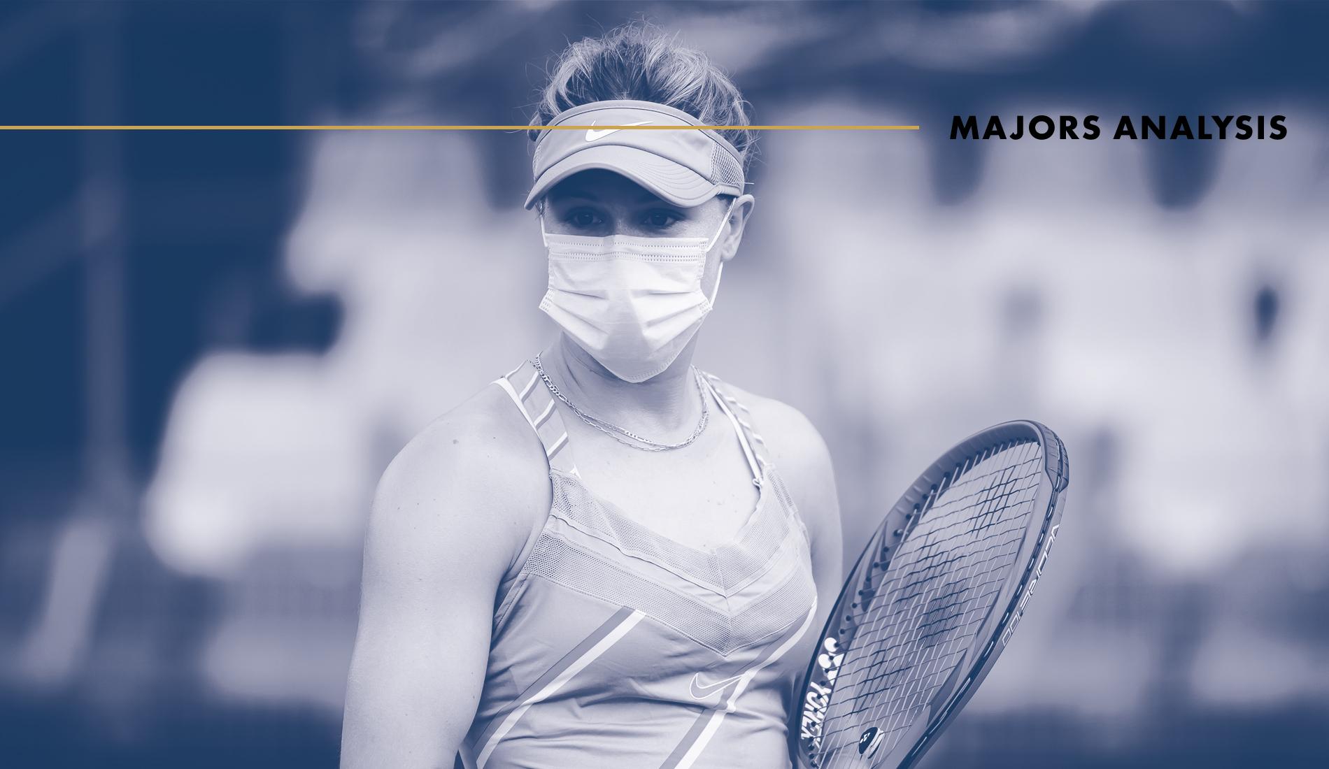Tennis New Normal : Majors Analysis (Eugenie Bouchard, Prague 2020)