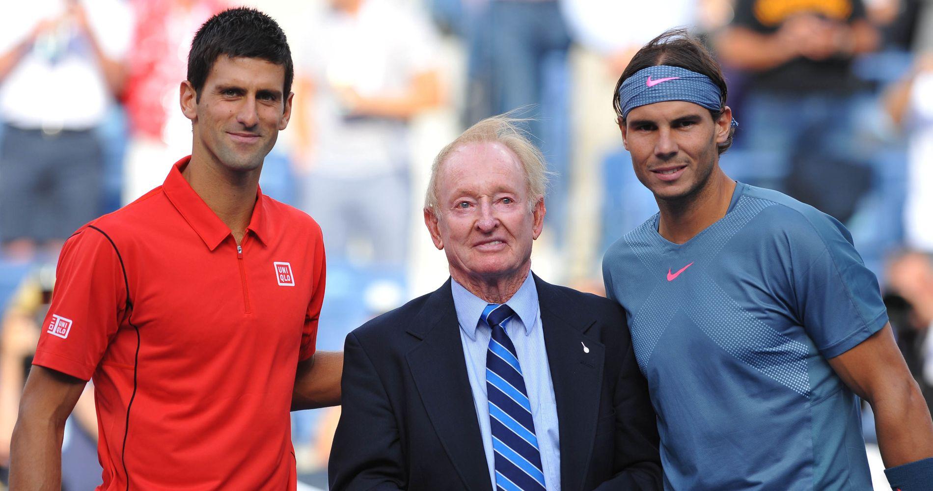 Novak Djokovic - Rod Laver - Rafael Nadal -