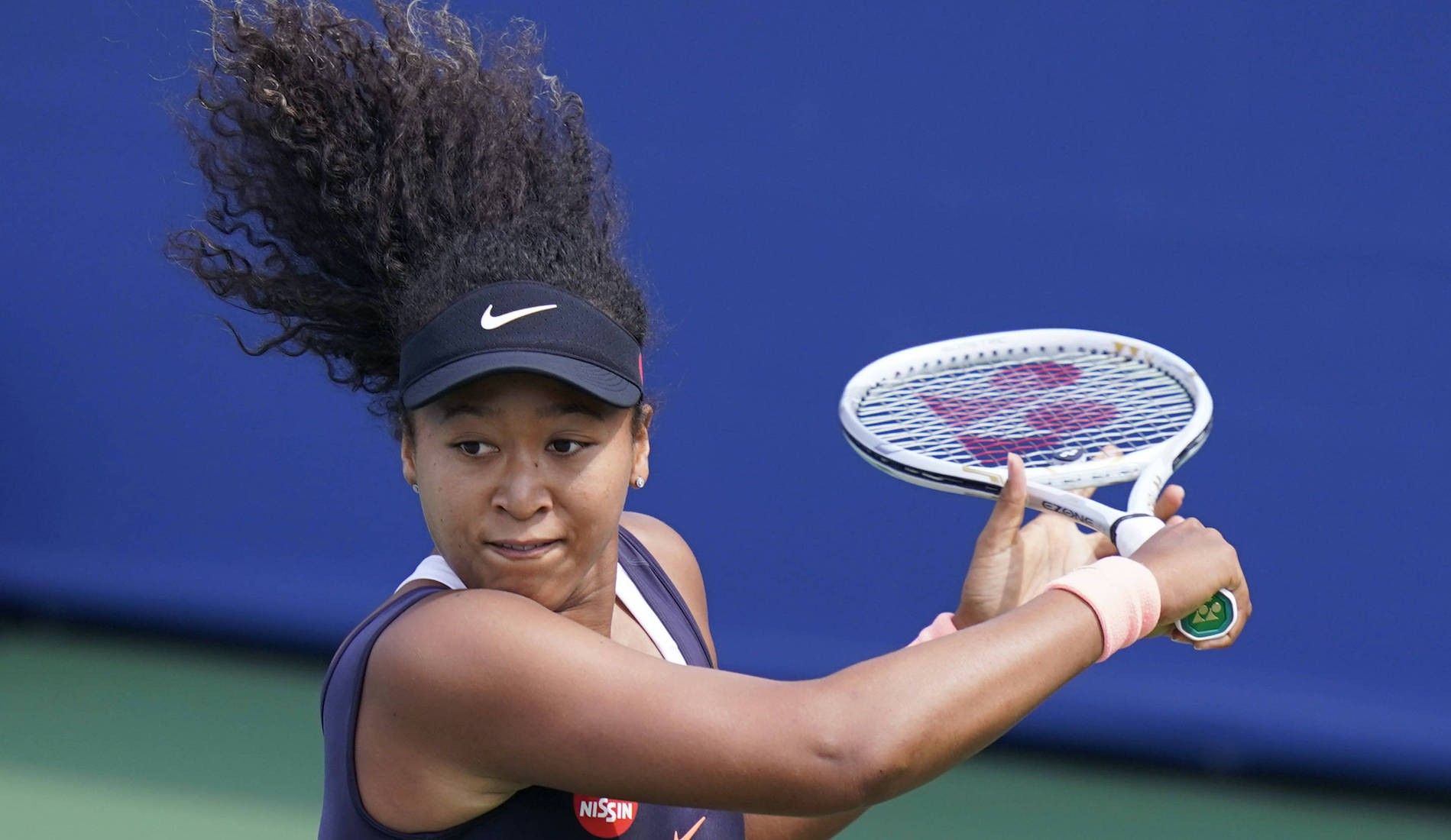 Naomi Osaka at Western and Southern Open, August 2020, Flushing Meadows, New York