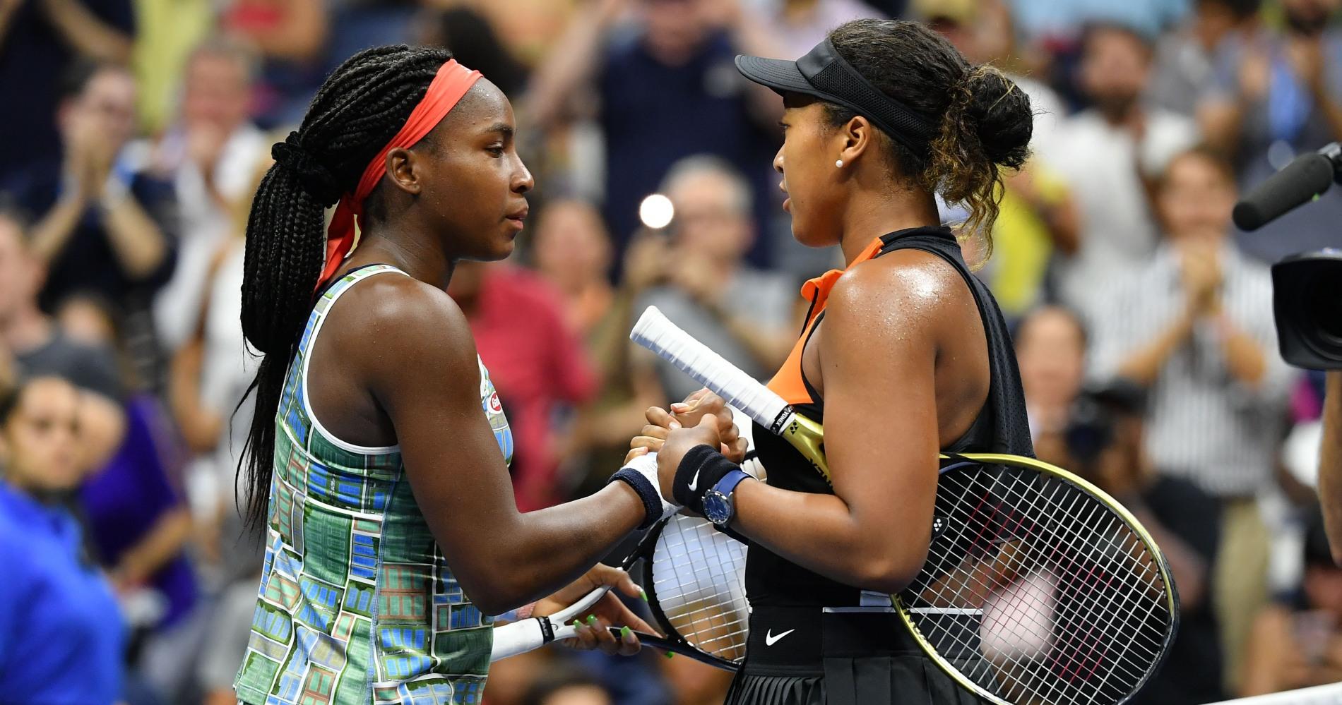 Naomi Osaka and Coco Gauff, US Open 2019