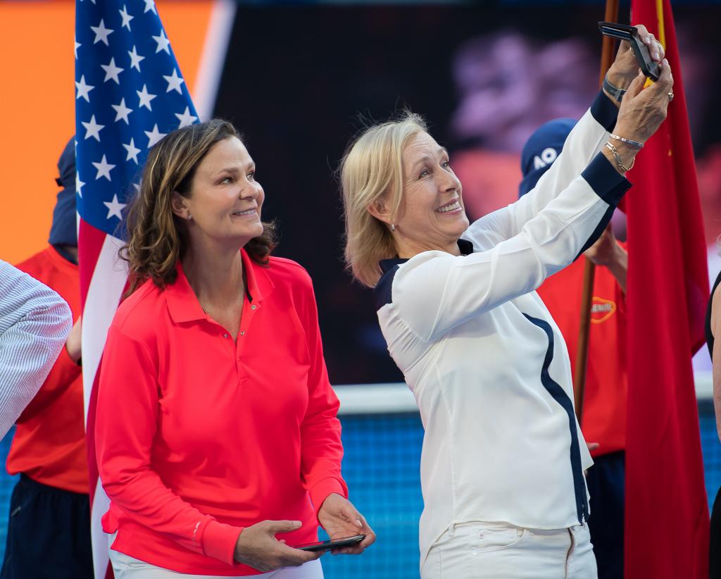 Pam Shriver 2019 Australian Open