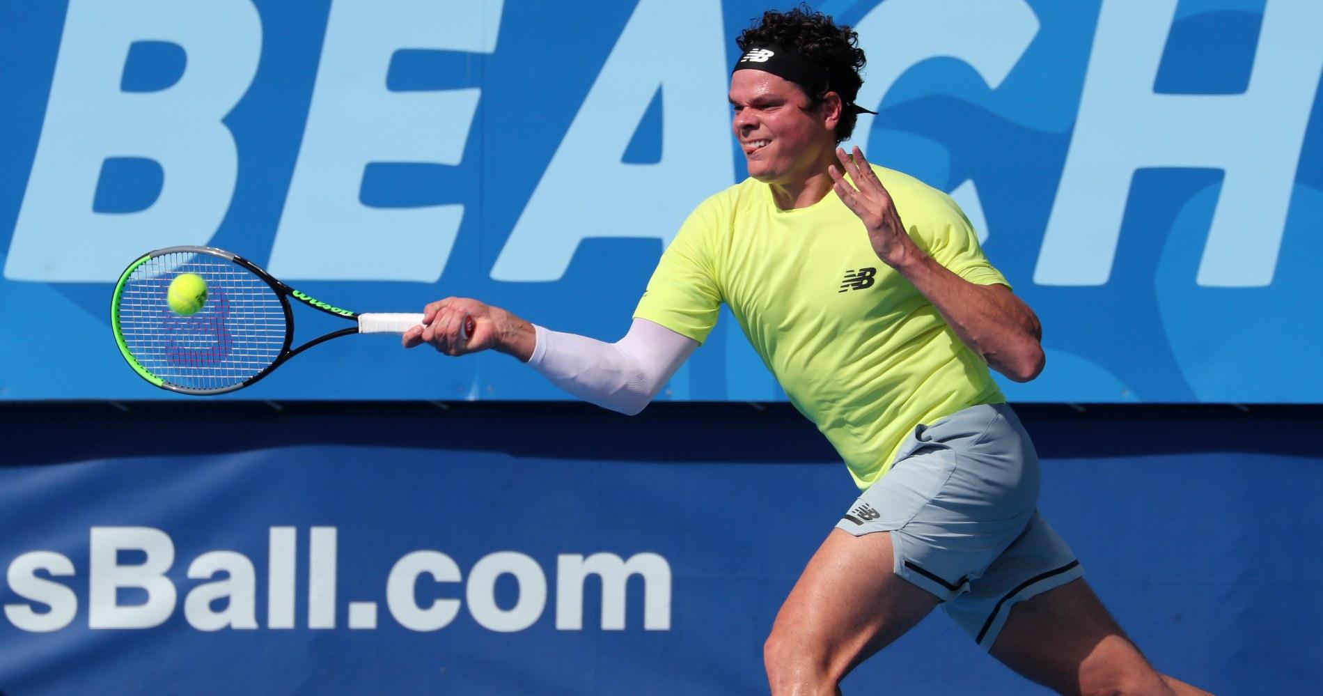 Milos Raonic - ATP World Tour Australian Open