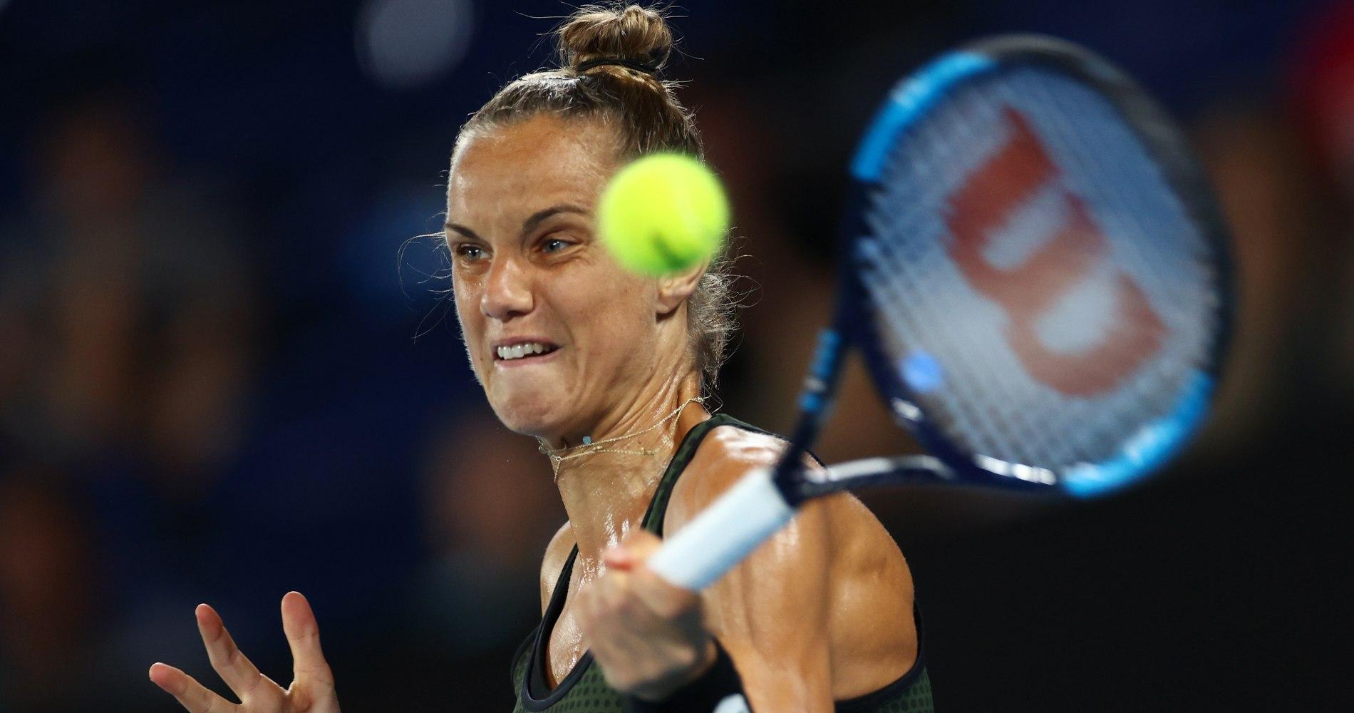 Arantxa Rus, Australian Open 2020